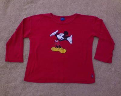 *DISNEY hosszú ujjú piros póló XL-es