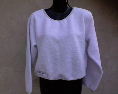 VENICEBEACH fehér pulóver  kb. 40-es