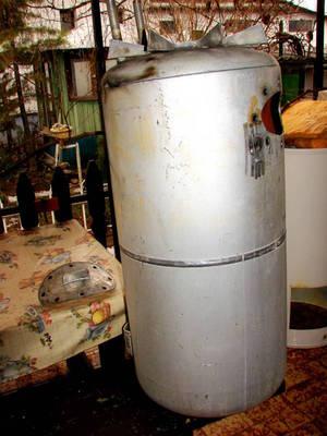 KF-125 TIP.gázüzemű vízmelegítő, aluminium tartály