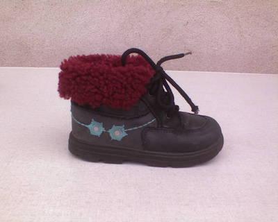 *24-es MEINE FREUNDE magas szárú téli bélelt cipő
