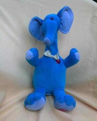 Kék plüss figura