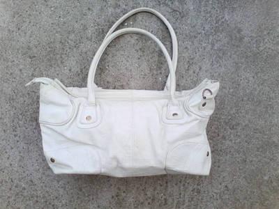 LOOKAT Tört-fehér  kézi/váll táska