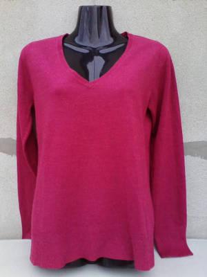 NEXT Bordó női pulóver 40/42=UK14-es