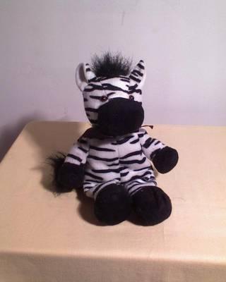Zebra plüssfigura