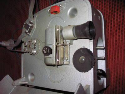 8mm-es orosz filmvetítő.